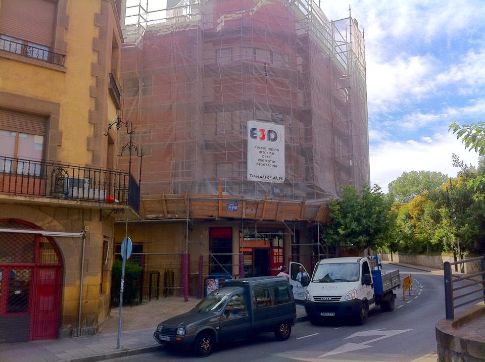 Rehabilitción de fachada Neguri