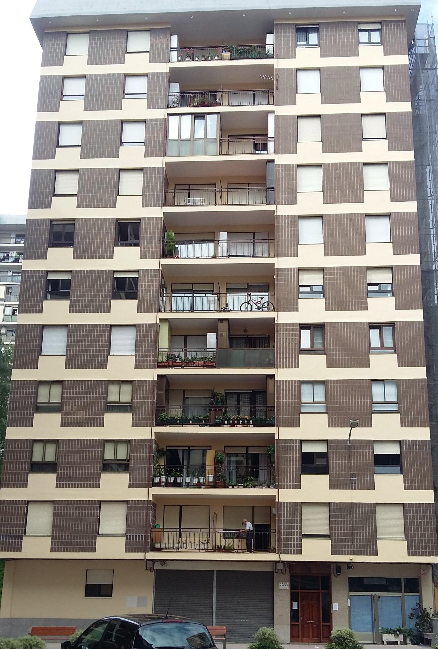 Rehabilitación fachadas Karmelo Torre 23 Basauri